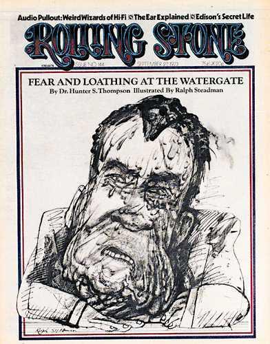 Rolling Stone issue 144 Thompson Nixon