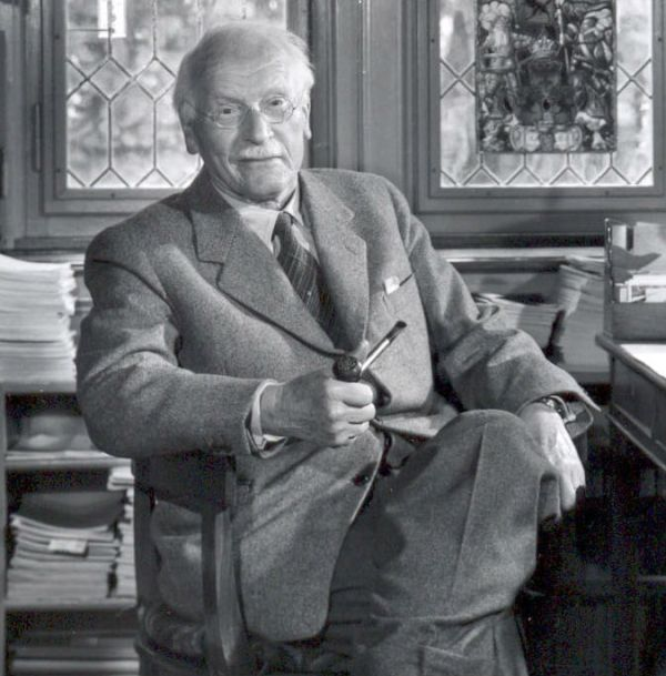 Carl Jung in his study room _cropped