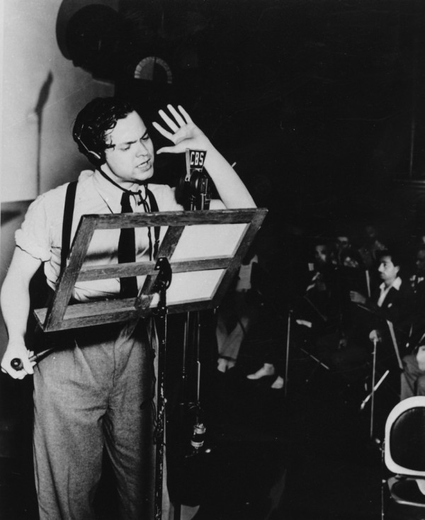 orson-welles-directing on CBS
