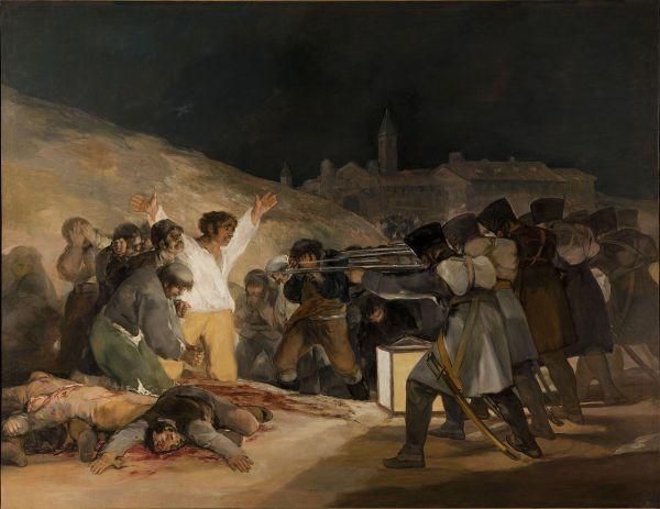 Goya, The Third of May 1808, 1814.