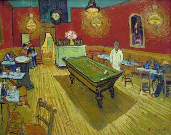 Van Gogh, The Night Cafe, 1888.