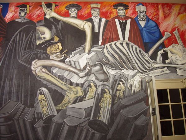 José Clemente Orozco, Gods of the Modern World, Dartmouth Mural, 1932-34.