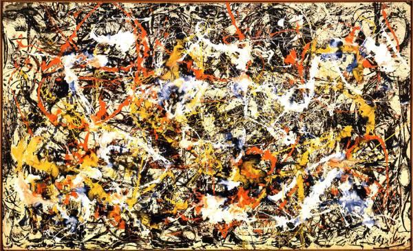Pollock, Convergence, 1952.