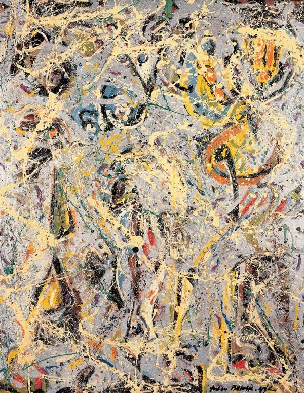 Pollock, Galaxy, 1947.