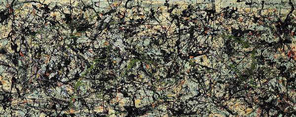Jackson Pollock,  Lucifer, 1947.