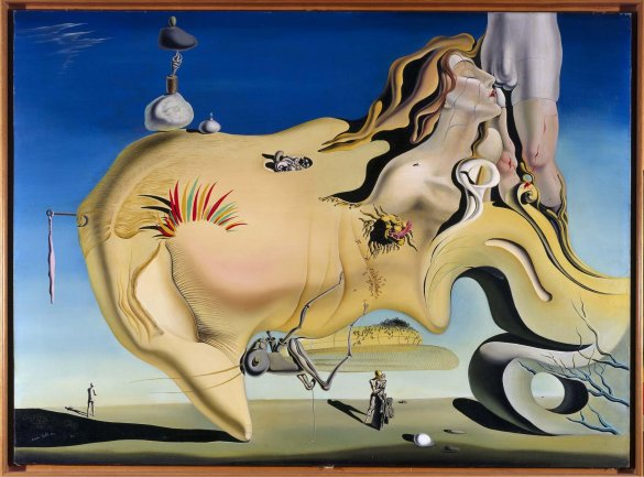 Salvador Dali, The Great Masturbator, 1929.