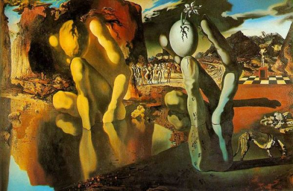 Salvador Dali, The Metamorphosis of Narcisssus,