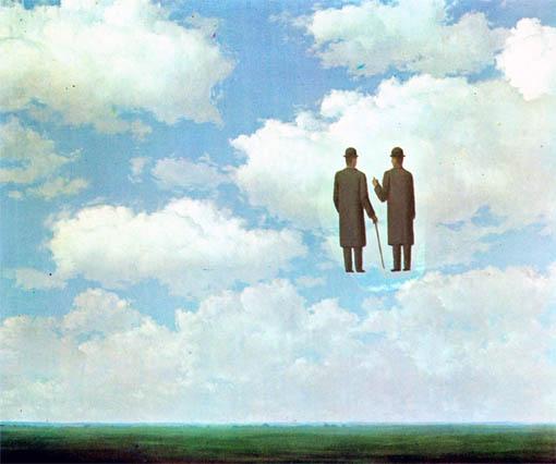 Rene Magritte, Infinite Gratitude, 1963.