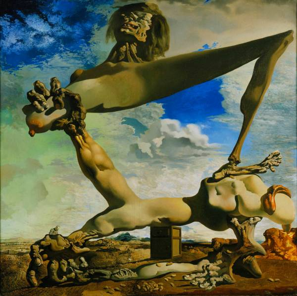 Salvador Dali, Soft Construction with Boiled Beans: Premonition of Civil War, 1936.