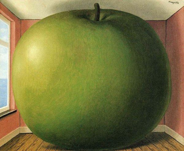 Rene Magritte, The Listening Room, 1952.
