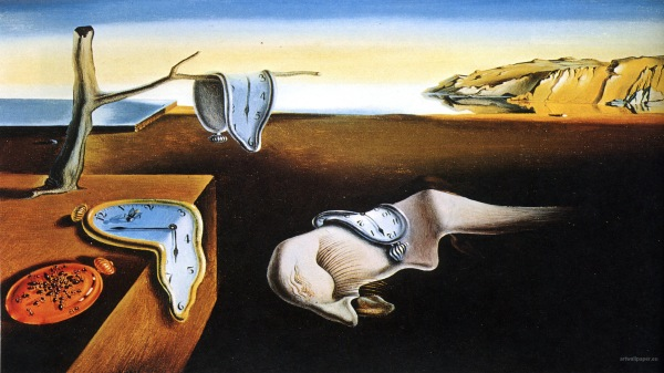 Salvador Dali, The Persistence of Memory, 1931.