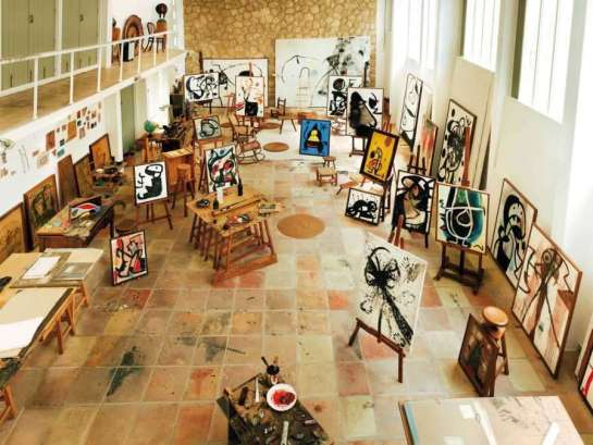 Joan Miro's Studio, Mallorca, Spain.