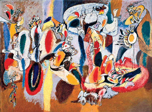 Arshile Gorky, The Liver is the Cock's Comb, 1944.
