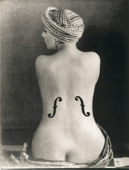 Man Ray, Kiki, La Violon d`Ingres, 1924.