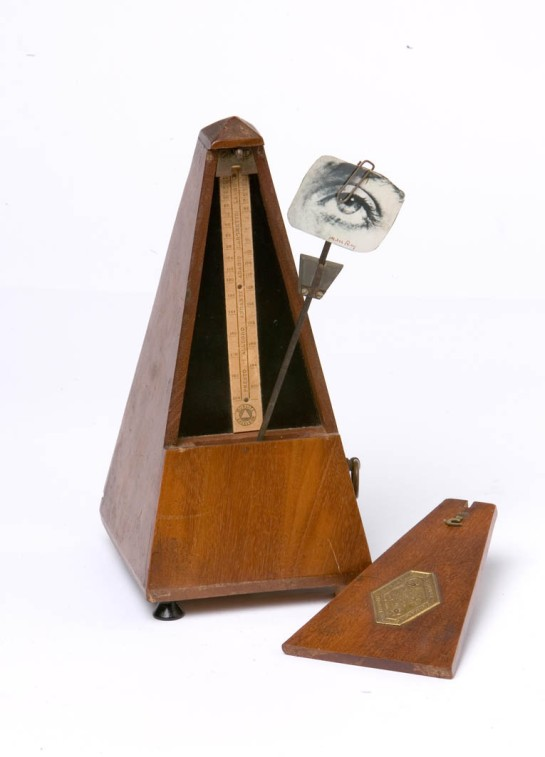 Man Ray, Indestructible Object or Object To Be Destroyed, 1958 (replica of 1923 original).