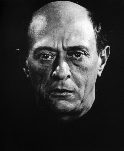 Man Ray, Arnold Schoenberg, 1927.