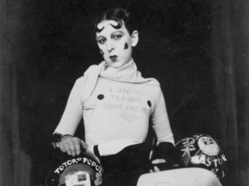 Claude Cahun, Self-Portrait, Don't Kiss Me, 1927.