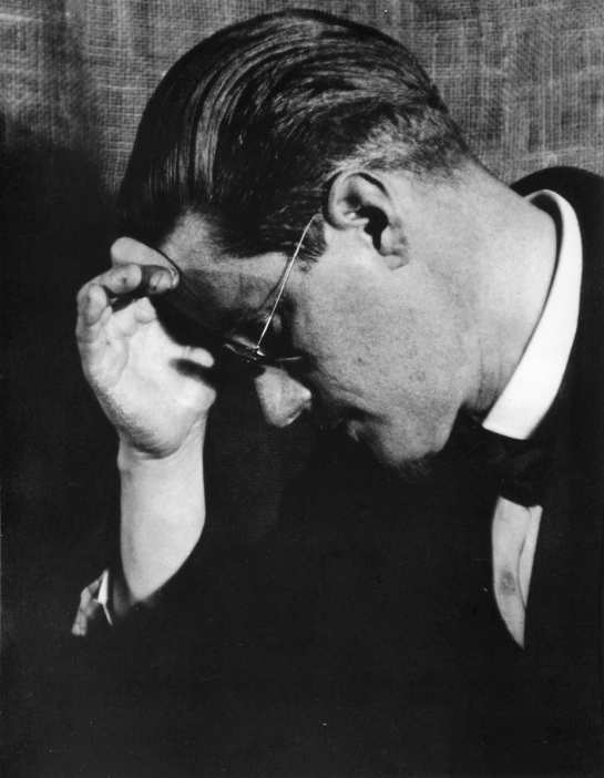 Man Ray, James Joyce, 1922.
